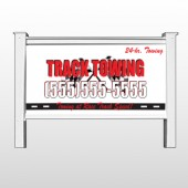 "Towing 126 48""H x 96""W Site Sign"