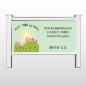 "World Party Plan 520 48""H x 96""W Site Sign"
