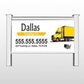"Yellow Truck 296 48""H x 96""W Site Sign"