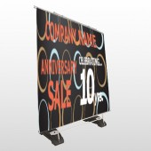 Anniversary Sale 14 Exterior Pocket Banner Stand