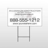 Builder 36 Wire Frame Sign