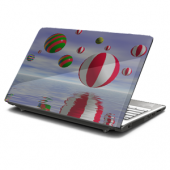 Sphere Reflections Laptop Skin