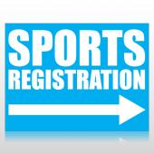 Sports Registration Sign Panel