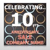Anniversary Sale 14 Custom Sign