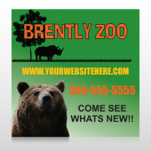 Bear Zoo 302 Site Sign