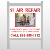 "AC Repair 251 48""H x 48""W Site Sign"
