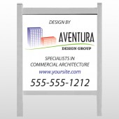 "Architect 25  48""H x 48""W Site Sign"