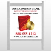 "CD & Graph 147 48""H x 48""W Site Sign"
