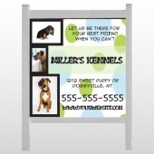 "Dog Kennels 300 48""H x 48""W Site Sign"