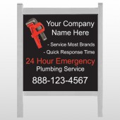 "Monkey Wrench 257 48""H x 48""W Site Sign"