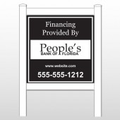 """Peoples 487 48""""H x 48""""W Site Sign"""