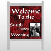 "Rose Couple 04 48""H x 48""W Site Sign"