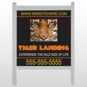 "Tiger Landing 303 48""H x 48""W Site Sign"