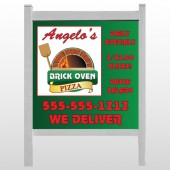 "Pizza 129 48""H x 48""W Site Sign"