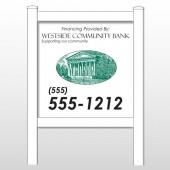 """Westside 452 48""""H x 48""""W Site Sign"""