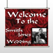 Rose Couple 04 Hanging Banner