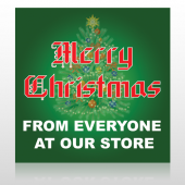 Merry Christmas 29 Custom Sign