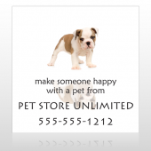 Pet Store 26 Sign Custom