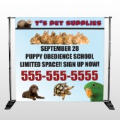 Pet Supplies 305 Pocket Banner Stand