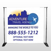 Travel Agent 28 Pocket Banner Stand