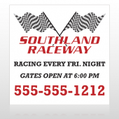 Racetrack 31 Custom Banner