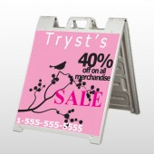 Bird Branch Sale 08 A Frame Sign