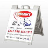 Rental Car 39 A Frame Sign