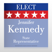 State Representative Stars 276 Custom Sign