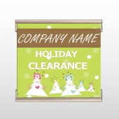 Holiday Clearance 13 Track Banner