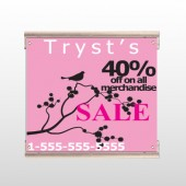 Bird Branch Sale 08 Track Sign