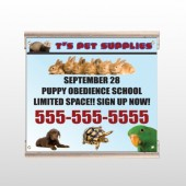 Pet Supplies 305 Track Sign