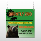 Bear Zoo 302 Window Sign