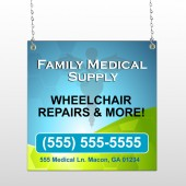 Family Medical 138 Window Sign