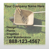 Wheel Barrow 261 Custom Sign