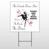 Ballet Dance 517 Wire Frame Sign