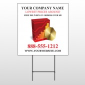 CD & Graph 147 Wire Frame Sign