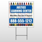 Crayons 184 Wire Frame Sign