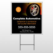 Detailing Services 115 Wire Frame Sign