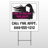 Hair 130 Wire Frame Sign