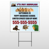 Pet Supplies 305 Wire Frame Sign