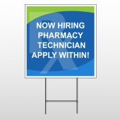 RX Hiring 286 Wire Frame Sign