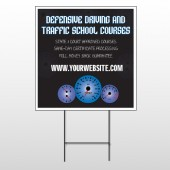 Traffic School 152 Wire Frame Sign