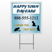 True Happy Care 182 Wire Frame Sign