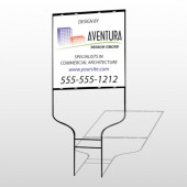 Architect 25 Round Rod Sign
