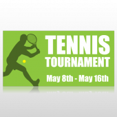 Tennis Tournament Banner