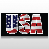 USA Vinyl Banner