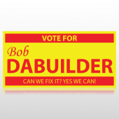 Vote For Me Political Banner