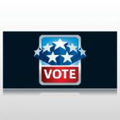 Vote Political Banner