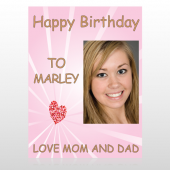 Happy B-Day Marley 10 Custom Decal