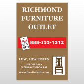 Outlet Chair 527 Custom Decal